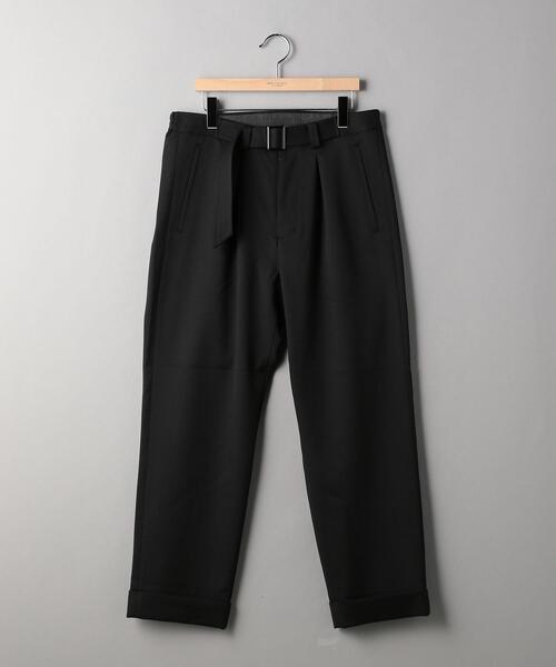 <TUBE> GABA BELT PANTS/パンツ
