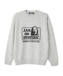 JAM ON HYSTERIC プルオーバートップグレー