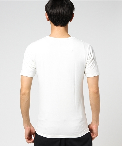 トロミベア天 VネックTシャツ