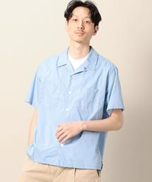 【別注】 <TANDEM WORK> OPEN COLLAR SHIRT/シャツ ◆