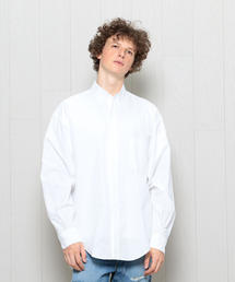 <H>OXFORD CRISP BUTTON-DOWN SHIRT/シャツ