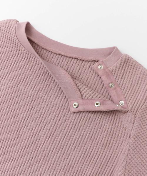 ドット釦サーマルTシャツ