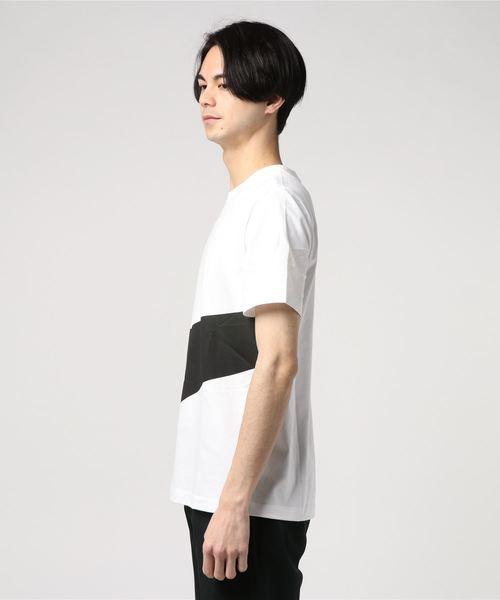 NIKE ナイキ M HBR スウッシュ S/S Tシャツ 1 AR5192-103 WHITE/BLACK