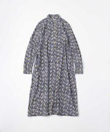 45R(フォーティファイブアール)の天竺の小紋柄ドレス(ワンピース)