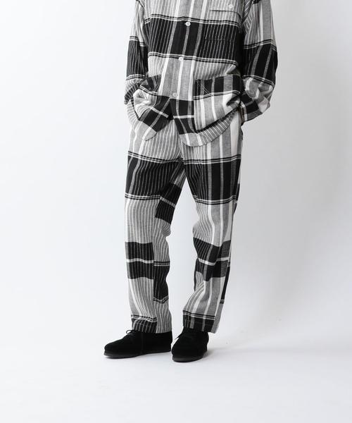 <NOMA t.d.> PLAID PANTS/パンツ