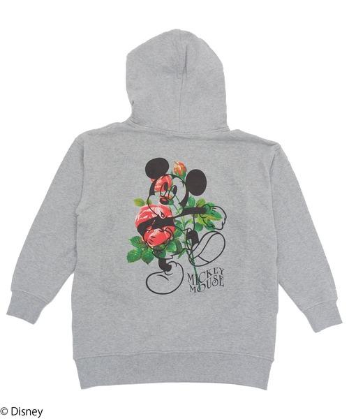 【Disney/ディズニー/ミッキーマウス】裏毛パーカー