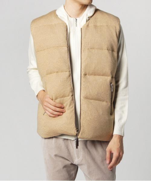 Men's reversible down vest