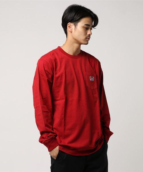 [BEN DAVIS/ベンデイビス]ワンポイントポケットTシャツ