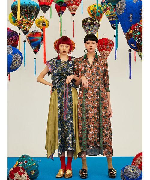 早割クーポン! ミックスフラワーシャツワンピース(ワンピース)|UN3D.(アンスリード)のファッション通販, 和歌山県湯浅町:0be069a1 --- blog.buypower.ng