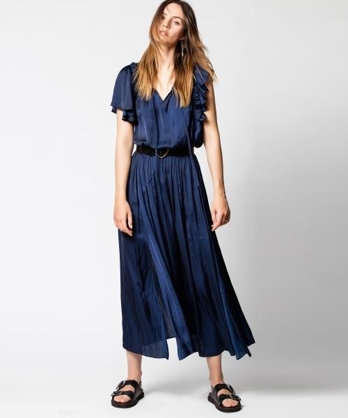 最高の品質 RULLE エ SATIN(ワンピース) ZADIG&VOLTAIRE(ザディグ エ エ ヴォルテール)のファッション通販, きれいになーれ:2669057f --- kindergarten-meggen.de