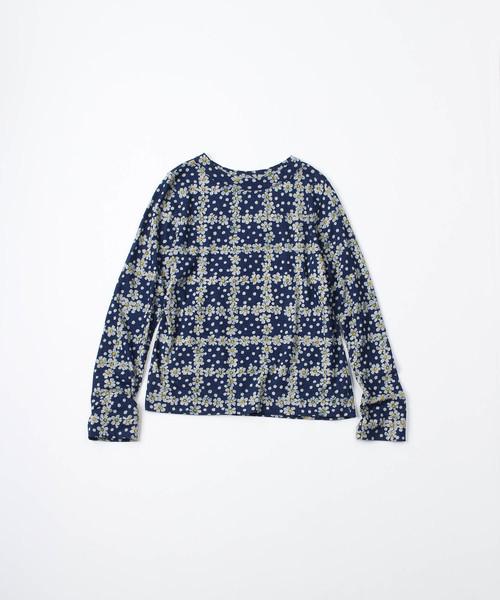 『5年保証』 45R天竺の小紋柄四角Tシャツ(インディゴ)(Tシャツ/カットソー)|45R(フォーティファイブアール)のファッション通販, 衣職自由femme:5d558f52 --- blog.buypower.ng