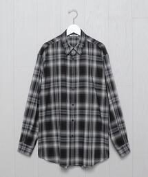 <AURALEE>CHECK SHIRT/シャツ.