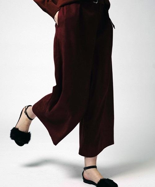 上等な 【セール】スエードアシメワイドパンツ(パンツ)|allureville(アルアバイル)のファッション通販, 下新川郡:2bb111ac --- skoda-tmn.ru