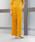 TIARA(ティアラ)の「クリス-ウェブ 佳子さんコラボ ワイドコーデュロイワイドパンツ(パンツ)」|マスタード