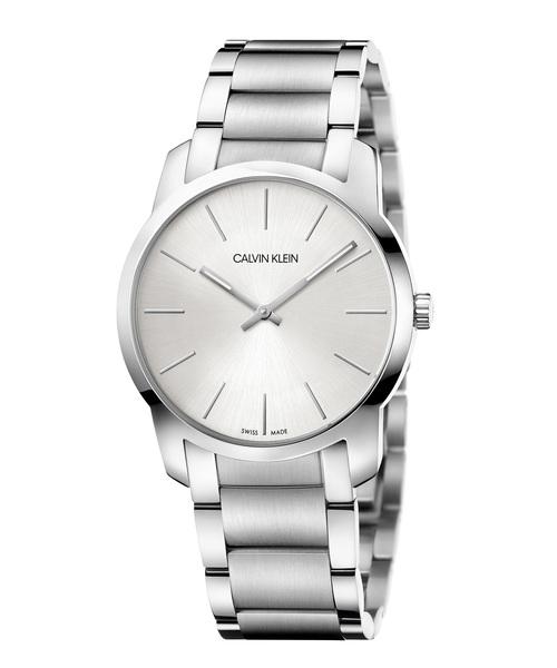 【全商品オープニング価格 特別価格】 [カルバンクライン] CALVIN KLEIN 腕時計 City(シティ) 2針 シルバー×シルバー, ベジフルプラザ d674d72d
