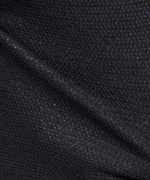 DESIGNWORKS(デザインワークス)の「ペーパーレイヤードトップス(ニット/セーター)」|詳細画像
