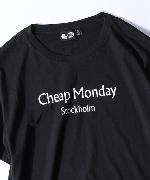CHEAP MONDAY/チープマンデー Standard tee Chp mnd text