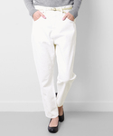 URBAN RESEARCH DOORS WOMENS | mizuiro-ind high waist white denim(デニムパンツ)
