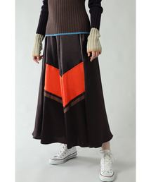 CREOLME(クレオルム)の(CREOLME)バイカラースカート(スカート)