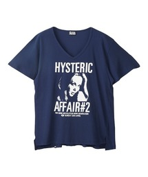 HYS AFFAIR#2 オーバーサイズTシャツネイビー