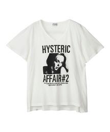 HYS AFFAIR#2 オーバーサイズTシャツホワイト