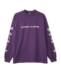 HYS ROCK Tシャツパープル