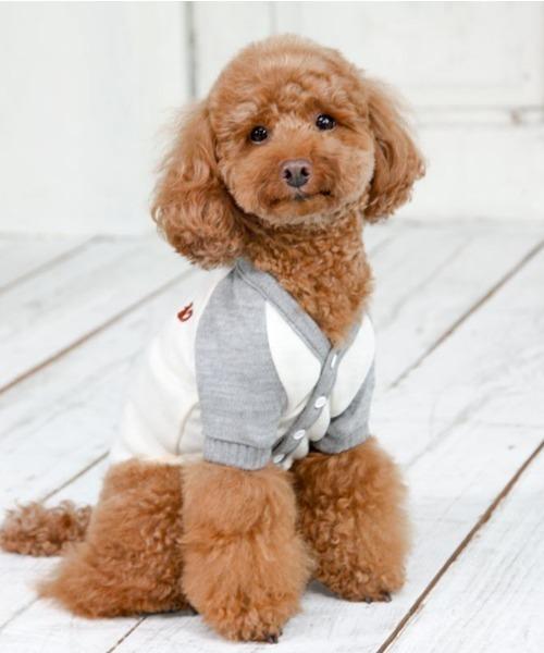 犬と生活/いぬとせいかつ/カーデイガン/犬服(ドッグウェア)