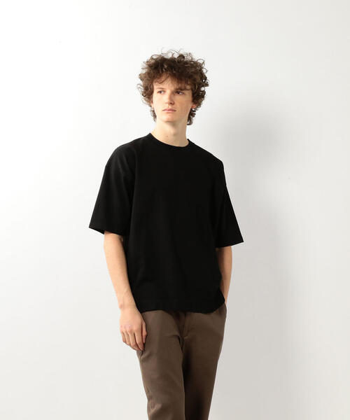 <Steven Alan> HI-DENS CN 5SL BOLD/Tシャツ