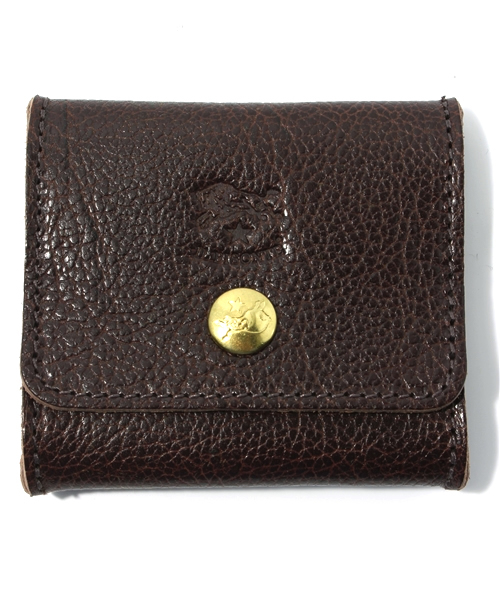 IL BISONTE(イルビゾンテ)の「IL BISONTE / ORIGINAL LEATHER / COIN CASE(コインケース)」 ダークブラウン