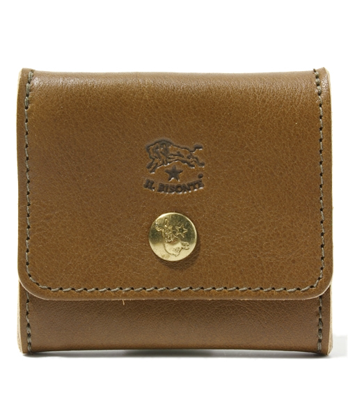 IL BISONTE(イルビゾンテ)の「IL BISONTE / ORIGINAL LEATHER / COIN CASE(コインケース)」 オリーブ