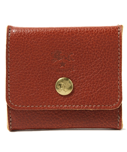 IL BISONTE(イルビゾンテ)の「IL BISONTE / ORIGINAL LEATHER / COIN CASE(コインケース)」 レンガ