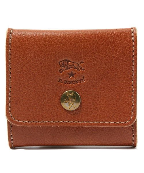 IL BISONTE(イルビゾンテ)の「IL BISONTE / ORIGINAL LEATHER / COIN CASE(コインケース)」 ライトブラウン
