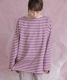 KBF(ケイビーエフ)のBIGBIGボーダーTシャツ(Tシャツ/カットソー)