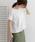 URBAN RESEARCH DOORS(アーバンリサーチドアーズ)の「サイドレースプルオーバー(Tシャツ/カットソー)」|オフホワイト
