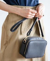 【WEB限定カラー:シルバー】お財布ショルダーバッグ