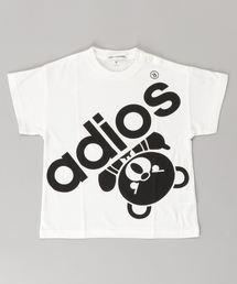 BIG ADIOS BEAR オーバーサイズTシャツ【XS/S/M】アイボリー