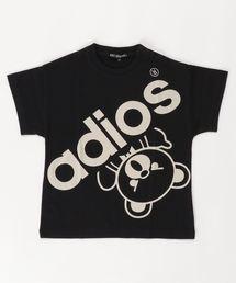 BIG ADIOS BEAR オーバーサイズTシャツ【XS/S/M】ブラック