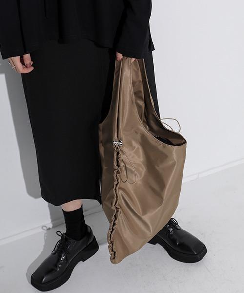 【chuclla】Gather nylon bag cha189
