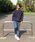coen(コーエン)の「【WEB限定】ストレッチスキニーデニムクライミングジョガーパンツ(デニムパンツ)」|詳細画像