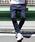 coen(コーエン)の「【WEB限定】ストレッチスキニーデニムクライミングジョガーパンツ(デニムパンツ)」|ネイビー