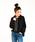 Auntie Rosa Holiday(アンティローザホリデー)の「【Holiday】スムース裏毛パーカー◆WEB限定◆(パーカー)」|ブラック