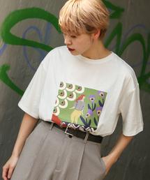 kutir(クティール)のアートプリントTシャツ(Tシャツ/カットソー)