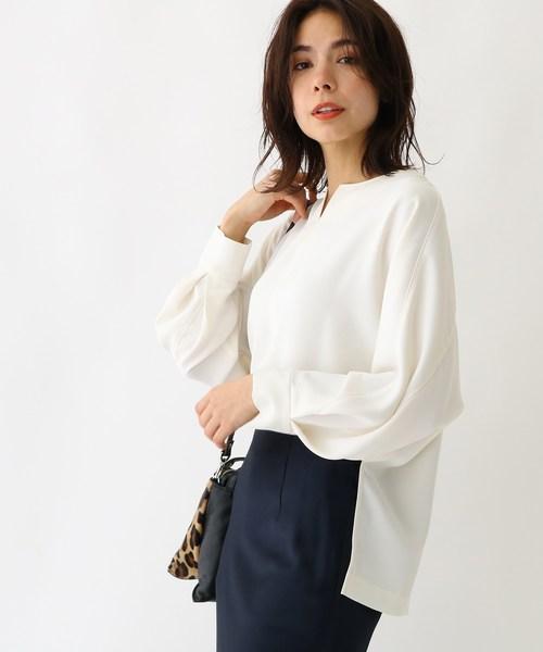 【後払い手数料無料】 エステルダブルクロスシャツ(シャツ/ブラウス)|aquagirl(アクアガール)のファッション通販, 大洋村:c5414d25 --- 5613dcaibao.eu.org