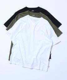 USAコットンヘビーウェイトVネックポケットTシャツ