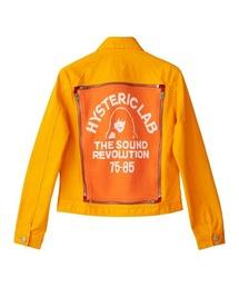 SOUND REVOLUTIONジャガードジャケットオレンジ