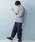 MONO-MART(モノマート)の「ワイドテーパードバルーンデニムパンツ(10oz DENIM)(デニムパンツ)」|詳細画像