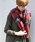 PICCIN(ピッチン)の「【WEB限定】チェックストール(マフラー/ショール)」 レッド