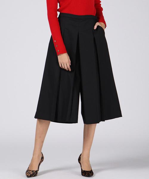 【大放出セール】 クロップドキュロットパンツ(パンツ) VICKY(ビッキー)のファッション通販, ベルトイズム:1bb2aa6d --- fahrservice-fischer.de
