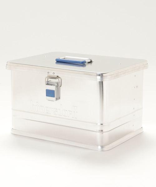 【 hunersdorff / ヒューナースドルフ 】 METAL PROFI BOX 30L メタル プロフィボックス 30L CUR