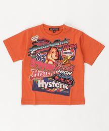 HG SOCIAL CLUB オーバーサイズTシャツ【XS/S/M】オレンジ